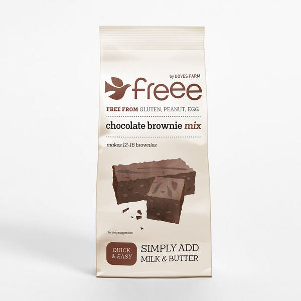 Freee by Doves Farm Gluten Free Chocolate Brownie Mix 350g