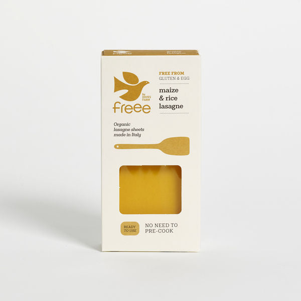 Freee by Doves Farm Organic Gluten Free Maize&Rice Lasagne 250g