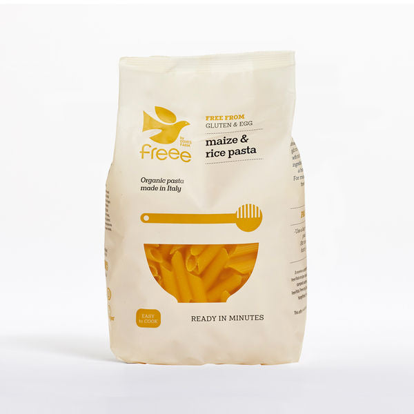 Freee by Doves Farm Organic Gluten Free Maize&Rice Penne 500g
