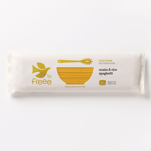Freee by Doves Farm Organic Gluten Free Maize&Rice Spaghetti 500g