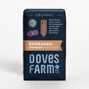 Doves Farm Organic Kamut Khorasan Wholemeal Stoneground Flour 1Kg