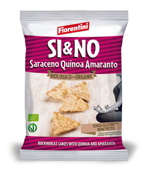 Fiorentini Organic Gluten Free Buckwheat Chips with Quinoa & Amaranth 20g - Absoluxe Hong Kong