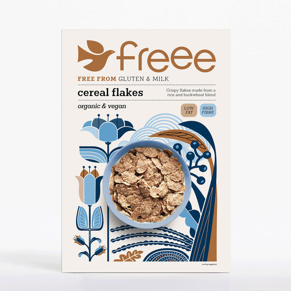 Freee by Doves Farm Organic GF Cereal Flakes 375g