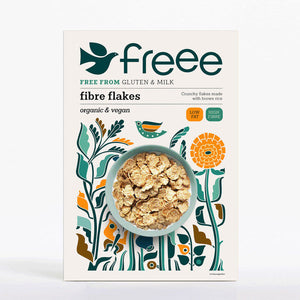 Freee by Doves Farm Organic GF Fibre Flakes 375g