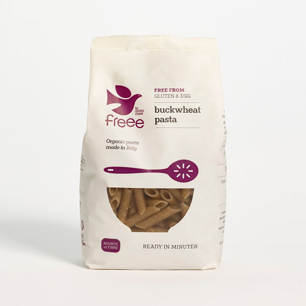 Freee by Doves Farm Organic Gluten Free Buckwheat Penne 500g