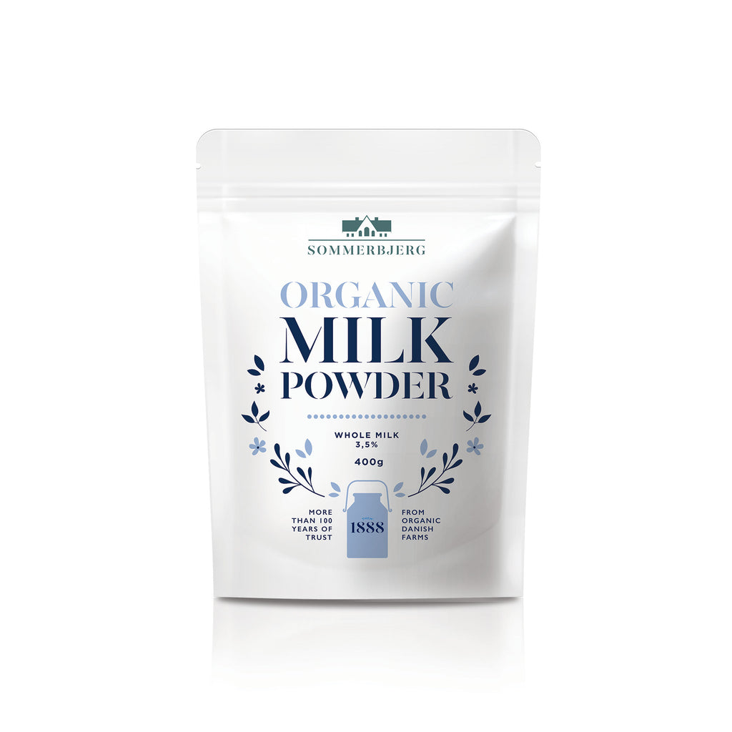 Sommerbjerg Organic Whole Milk Powder 400g - Asiaboxx Foods | Hong Kong