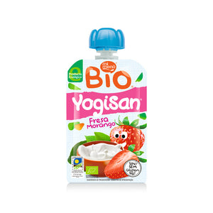 MiMenu Organic Yogisan Strawberry Drink 90g - Absoluxe Hong Kong