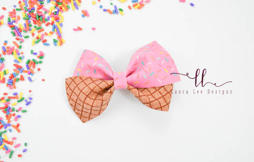 Nea Bow Style || Pink Sprinkles
