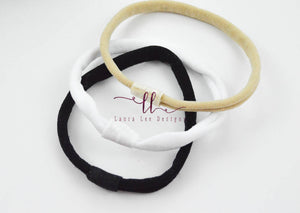 Interchangeable Nylon Headband || One Size Fits Most