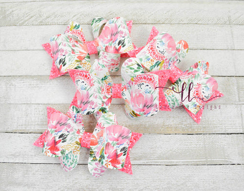 Amelia Bow Style || Summer Floral