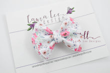 Little Millie Bow Style || Sophie Floral Vegan Leather
