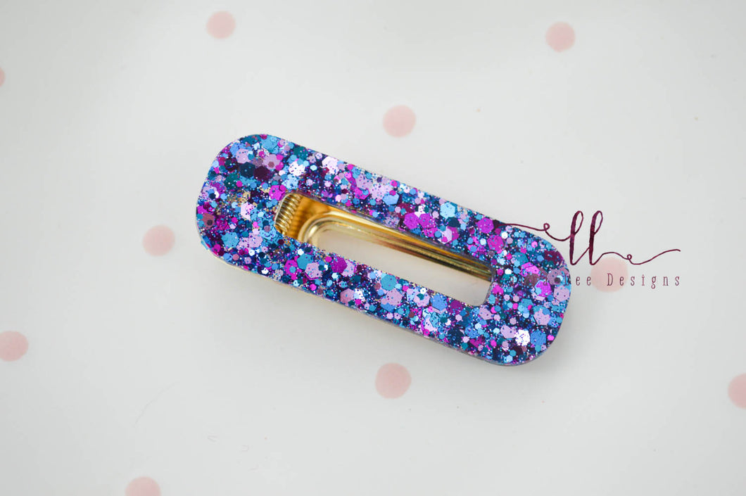 Small Handtied Timber Bow || Gold and White Polka Dots || Headband Only