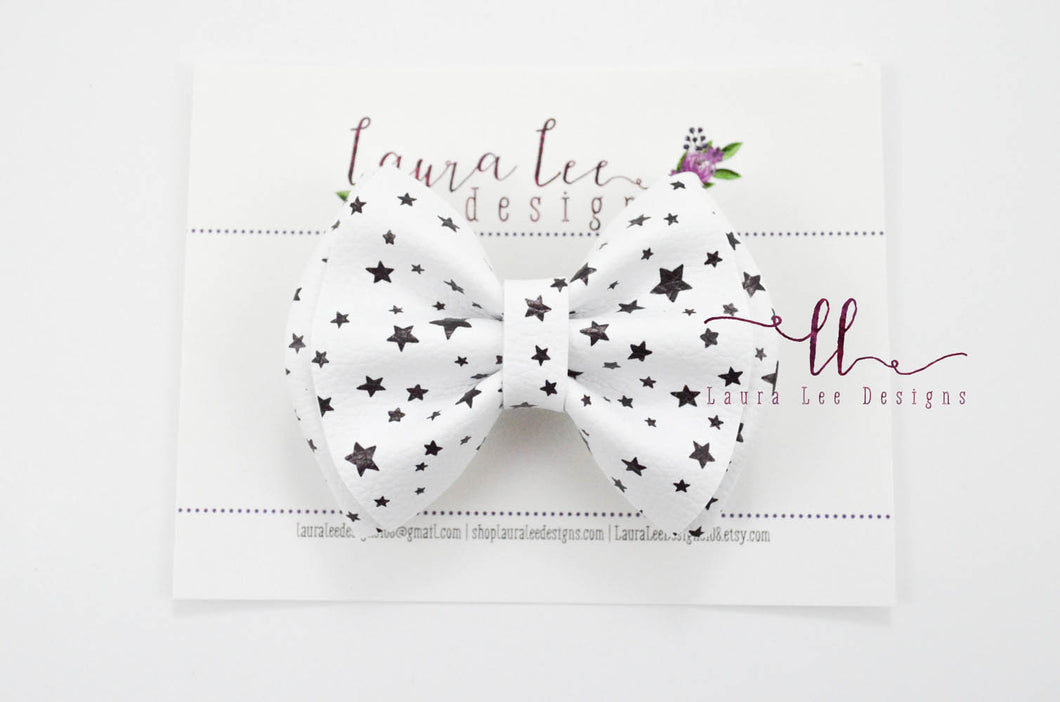 Millie Bow Style || Stars Vegan Leather
