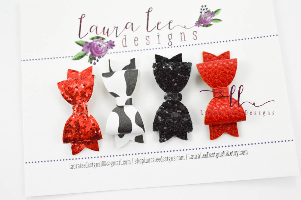 Pixie Bow Set || Set of 4