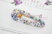 Elegant Alligator Clip || Pastel Glitter Triangle Alligator Clip