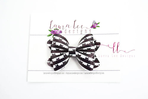 Sasha Style Bow || Peek-A-Boo Kitties