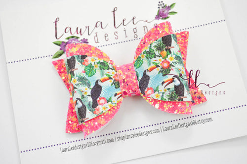 Annie Style Bow || Toucans