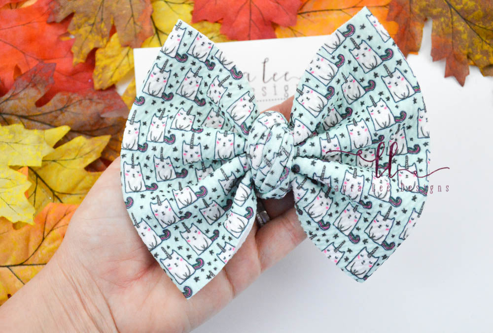 Large Julia Messy Bow Style Bow || Caticorns