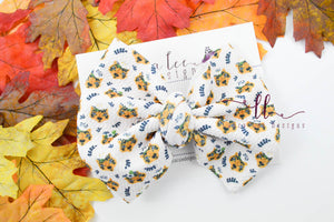 Large Julia Messy Bow Style Bow || Dainty Tigers