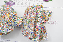 Stacked Izzy Style Bow || Fall Treasure Glitter