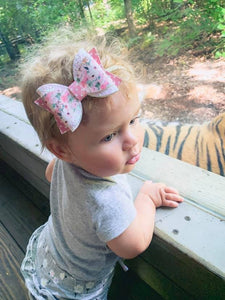 Annie Style Bow || Walk on the Wild Side || Tiger Bow