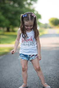 Pippy Style Pigtail Bow Set || Stars And Stripes Bows