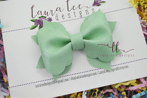 Molly Bow Style || Mint Aged Shimmer Vegan Leather