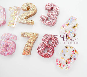 Number Set || Unicorn Magic || Pink and Gold