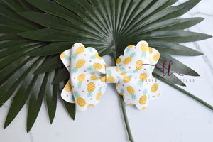 Margo Bow Style || Pineapples Vegan Leather