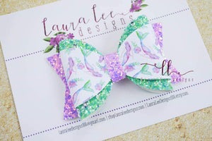 Annie Style Bow || Watercolor Mermaids