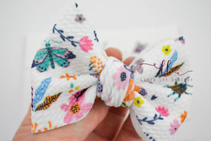Small Julia Messy Bow Style Bow || Sweeet Summertime