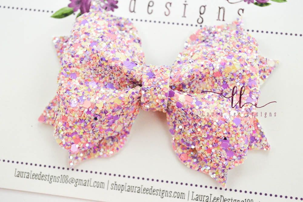 Molly Bow Style || Sweettart Glitter