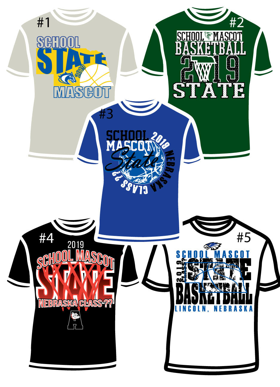 2019 STATE BASKETBALL DESIGNS