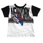 T-Shirt bebo Spider Man New York