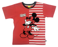 Mickey Mouse Red Tee Niño