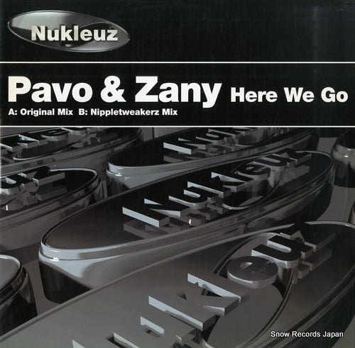 PAVO AND ZANY - here we go - 0533PNUK - Snow Records Japan