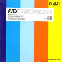 AVEX - techno radio fm - GLX-0013-6 - Snow Records Japan