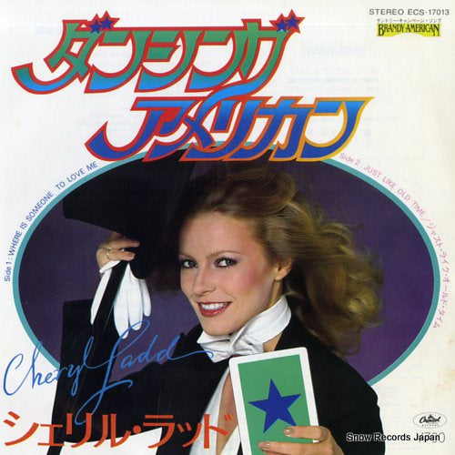 LADD, CHERYL - where is someone to love me - ECS-17013 - Snow Records Japan