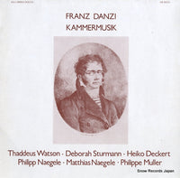 V/A - franz danzi; kammermusik - SM92113 - Snow Records Japan