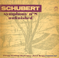 "KRIPS, JOSEF - schbert; symphony no.8 ""unfinished"" - M-208 - Snow Records Japan"