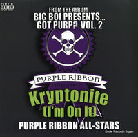 PURPLE RIBBON ALLSTARS - kryptonite (i'm on it) - 0946-334040-1-4 - Snow Records Japan