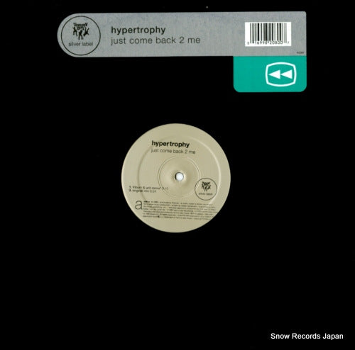 HYPERTROPHY - just come back 2 me - TB2080 - Snow Records Japan