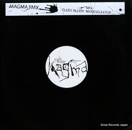 ALLIEN, ELLEN - magma - BPC105 - Snow Records Japan