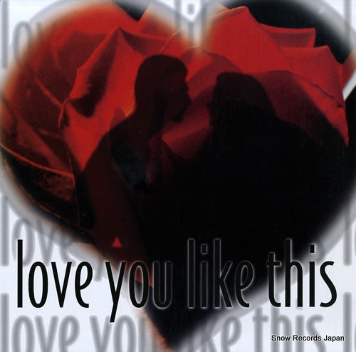 V/A - love you like this - BWLP0023 - Snow Records Japan