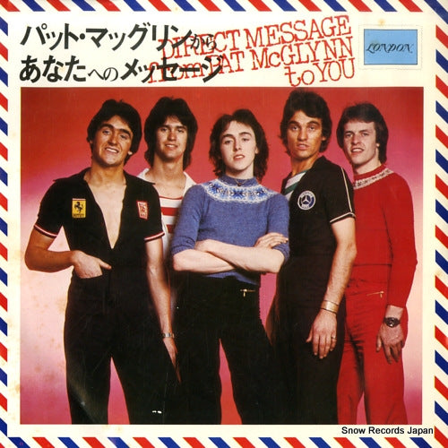 MCGLYNN, PAT - direct message from pat mcglynn to you - E2695 - Snow Records Japan