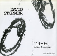 DAVID STORMER - limit - CC-001 - Snow Records Japan