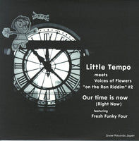 LITTLE TEMPO - our time is now - RR12-88171 - Snow Records Japan