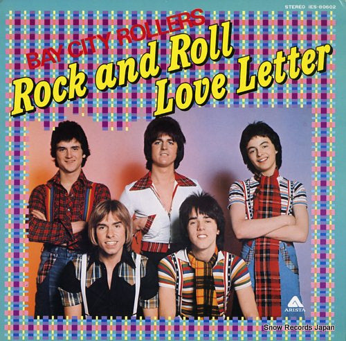 BAY CITY ROLLERS - rock and roll love letter - IES-80602 - Snow Records Japan