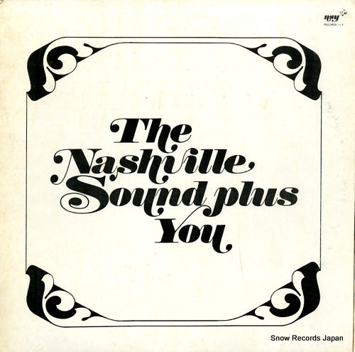 V/A - the nashville sound plus you vol.iv - NSY-4 - Snow Records Japan