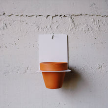 Sheet Metal Wall Planter